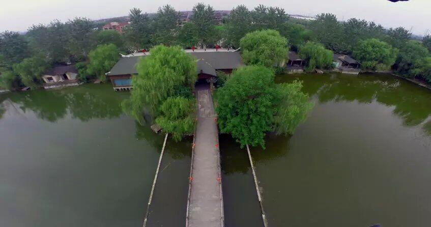 图2:杭州秀山美地休闲农庄鸟瞰图
