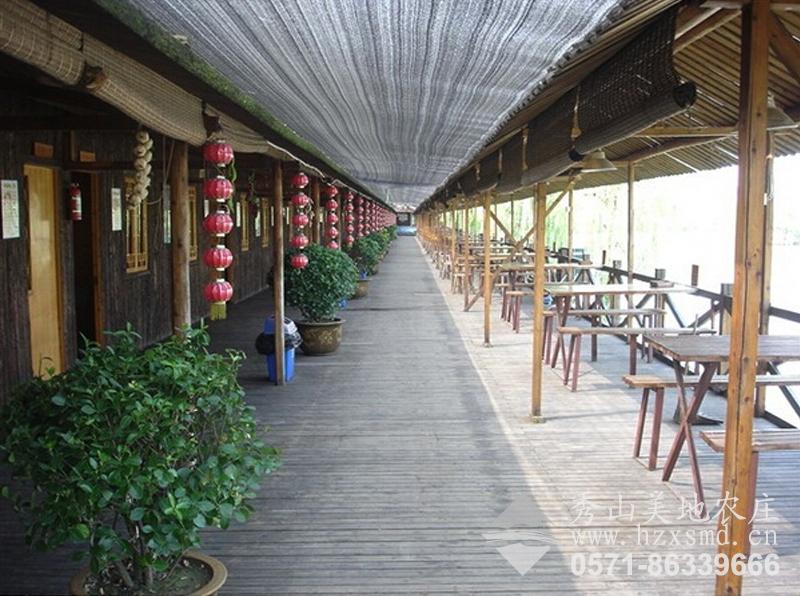 图1:秀山美地休闲农庄 酒店长廊