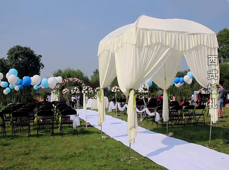 图1:秀山美地休闲农庄 草坪婚礼